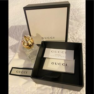 NEW AUTHENTIC GUCCI STERLING SILVER HEART RING 6.5